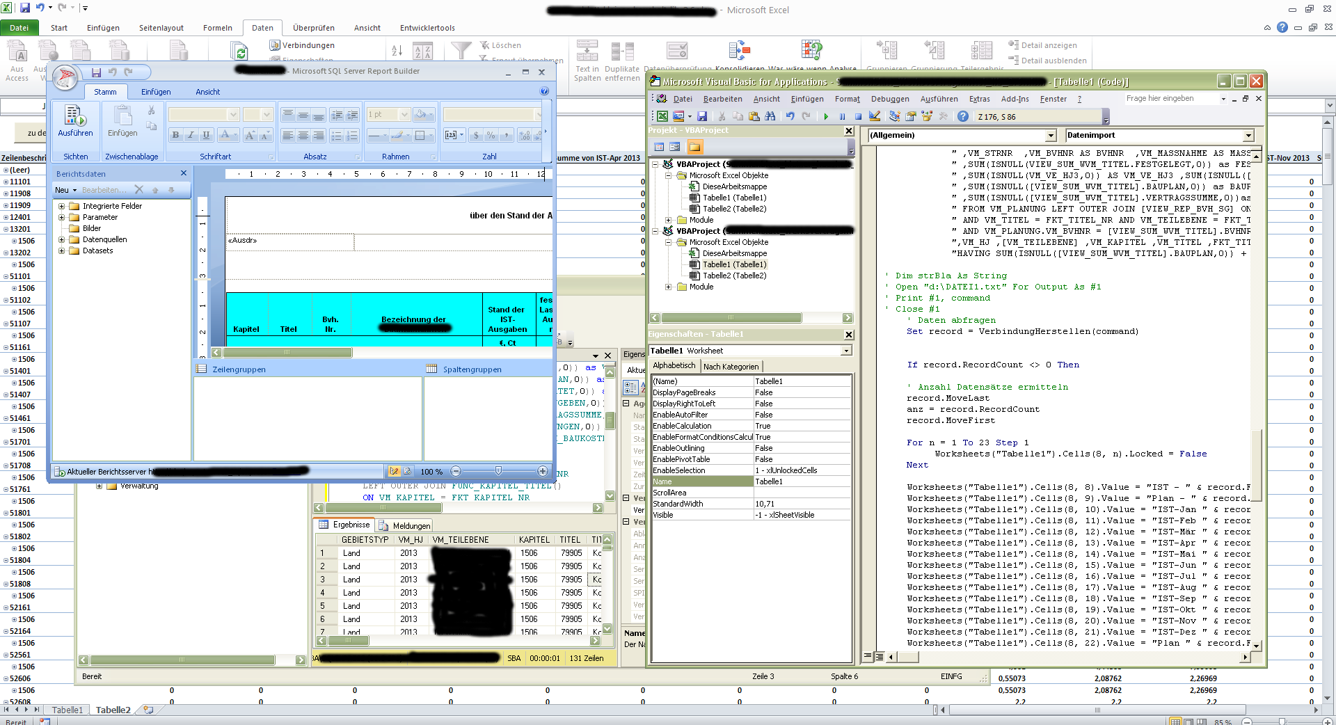 Programmierung – VBA in Excel mit ein wenig WTF