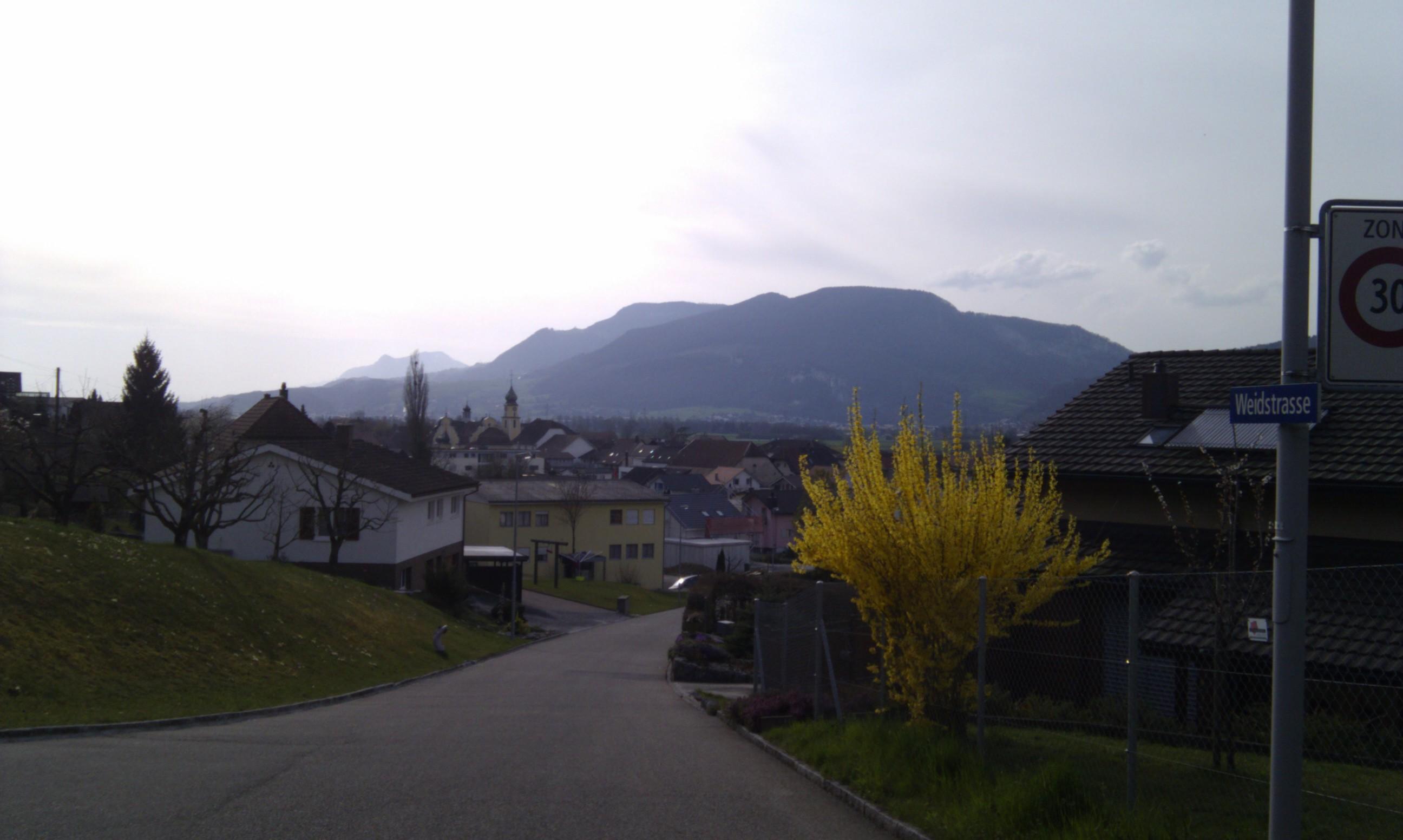 Unterwegs – Die Schweiz bei Sonne